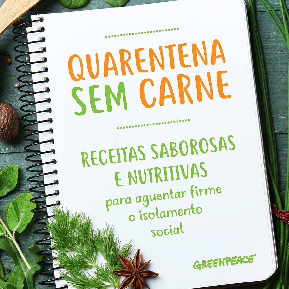 Quarentena Sem Carne - ebook de receitas